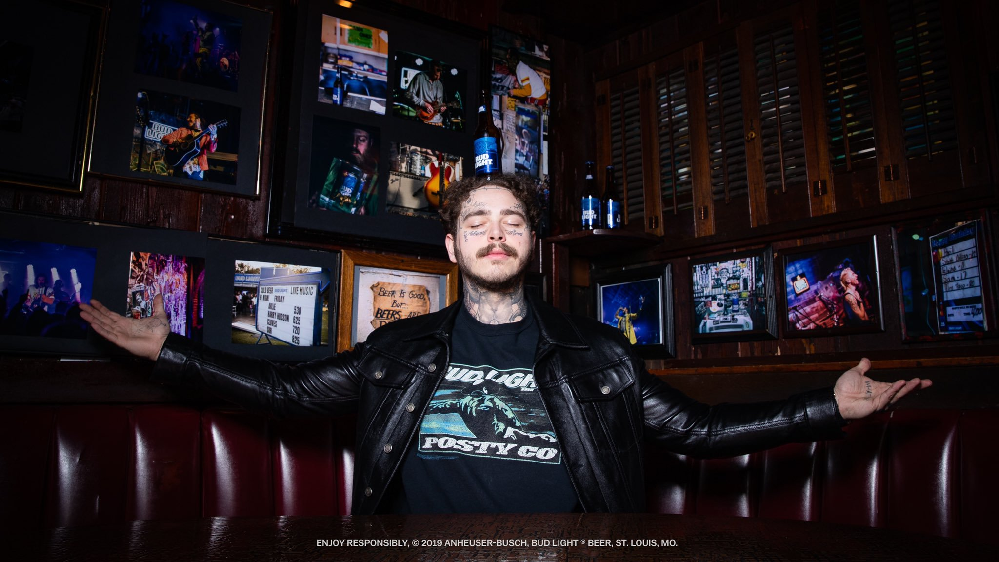 【新曲】Post Malone の Hollywood's Bleeding